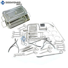 Craniotomy Instruments Set With Sterilization Box Orthopedic Surgical Instrument