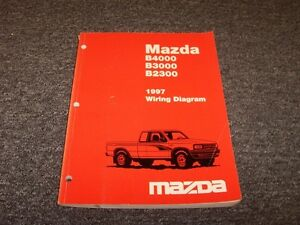 Details about 1997 Mazda B4000 B3000 B2300 Pickup Truck Electrical on