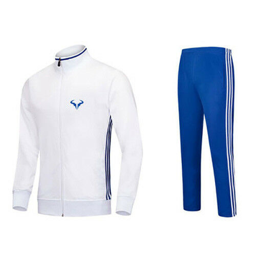 New Quality Athletic Nadal Tennis Warm Up Suit Including Jacket and Pants
