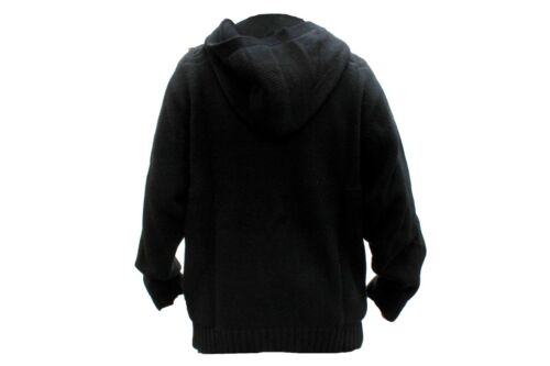 NEW MEN/'S AUTHENTIC CROWN HOLDER HOODY SWEATER HR69761 BLACK