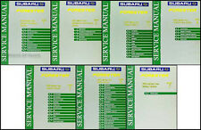 2003 Subaru Forester Repair Shop Service Manual Set of 7 Original OEM Volumes