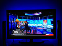 Multi-color Led Backlight For Hd Tv Flat Screen Rgb 42 50 60 Stick-on Kit