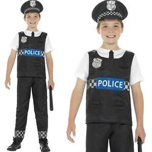 Childs-Boys-Cop-Fancy-Dress-Costume-Police-Boy-Kids-Outfit-by-Smiffys