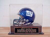 Football Mini Helmet Case For Your Brett Favre Packers Autographed Mini Helmet