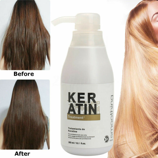 Brazilian Keratin Hair Scalp Treatment Damaged Hair Care 5 Straightener 300ml For Sale Online Ebay