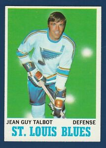 JEAN-GUY-TALBOT-70-71-TOPPS-1970-71-NO-100-NRMINT