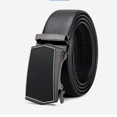 Casual Genuine Leather Automatic Buckle Men/'s Fashion Waist Strap Belt Waistband