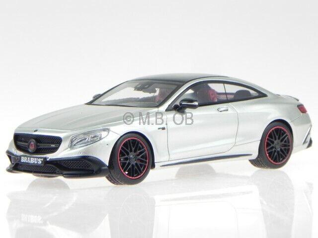 Mercedes C217 Brabus 850 S63 Coupe silbgrau Modellauto Minichamps 1 43 437034221  | Erste in seiner Klasse