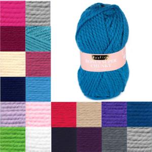 Sirdar-Hayfield-Bonus-Super-Chunky-Yarn-100g-Ball-Knitting-Crochet-Knit