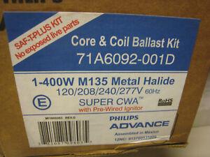 Advance 71A6092-001D 400 Watt M135 Metal Halide Ballast ...