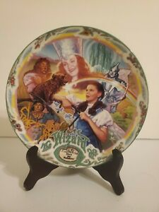 The-Wizard-Of-Oz-Knowles-1993-Over-the-Rainbow-Musical-Plate-Limited-Edition