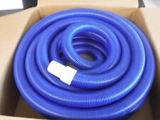 "NEW Flexaust Genesis STM PE Duct Hose, Blue, 1.5"" Dia, 50' Length (B)"