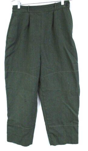 VTG LL Bean Womens Pants Slacks WW2 1940s Size Zip