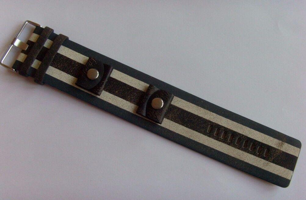 Fossil, bracelet de rechange en cuir pour montre Fossil JRLB JR1475, 24 mm, marron