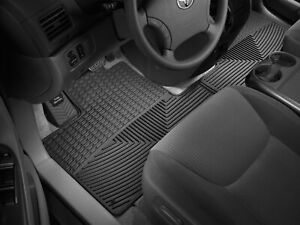 Weathertech All Weather Floor Mats For Toyota Sienna 2004