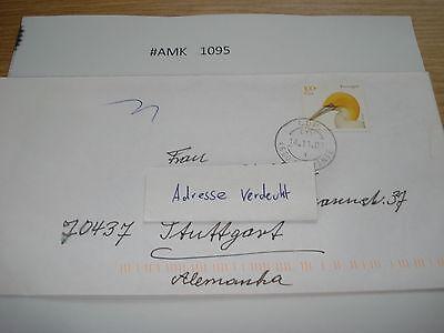 #amk1095 Beleg Brief Postkarte Ganzstück Europa Portugal Amarante