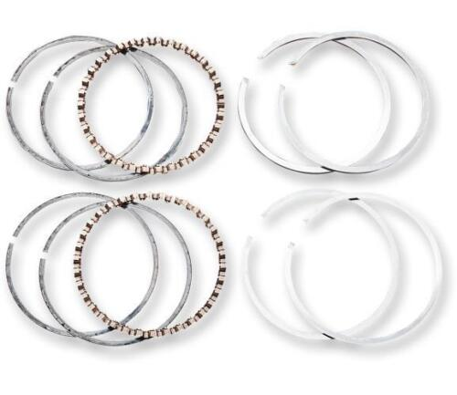 """Hastings .005/"""" Bore Moly Top Piston Ring Set for Harley 96/"""" Twin Cam 2M4805005"""