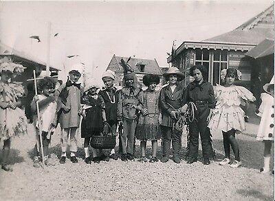 Dapper Plage Du Nord C. 1930 - Enfants Déguisés - Div 11163