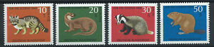 Allemagne-RFA-N-414-17-MNH-1968-Animaux-sauvage