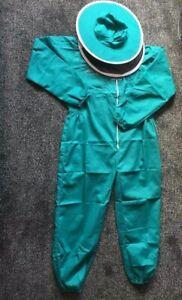 Responsable Housse De Protection Apiculture Abeille Costume Vert/round Voile Épais/taille L-afficher Le Titre D'origine Produits Vente Chaude