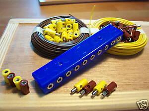 Lampen-VerlegeSet-Verteiler-Kabel-Stecker-Muffen-O1