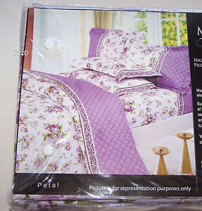 Manhattan-Homewares-Petal-Design-Double-Bed-Quilt-Cover-Set-New