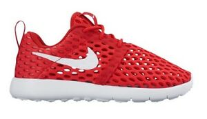 f810687e29142 Nike Roshe One Flight Weight Red white Boy Shoes Size 12C 11 819689 ...