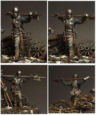 Landsknecht, XV c. swiss warrior,  54mm, BAUSATZ!!!!!