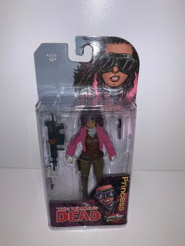 The Walking Dead Princess Juanita Sanchez Figure COLOR Mcfarlane NYCC 2018