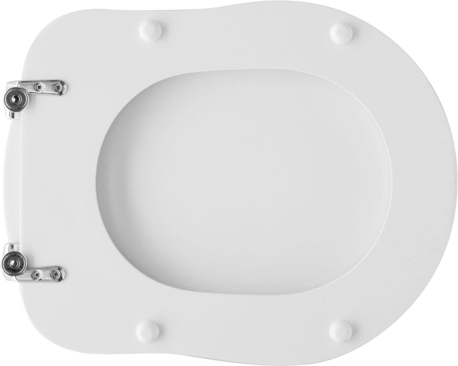 COUVRE SIÈGE SIÈGE WC WC WC P/DOLOMITE VASE ANTALYA BLANC | Moderne  b6d77a