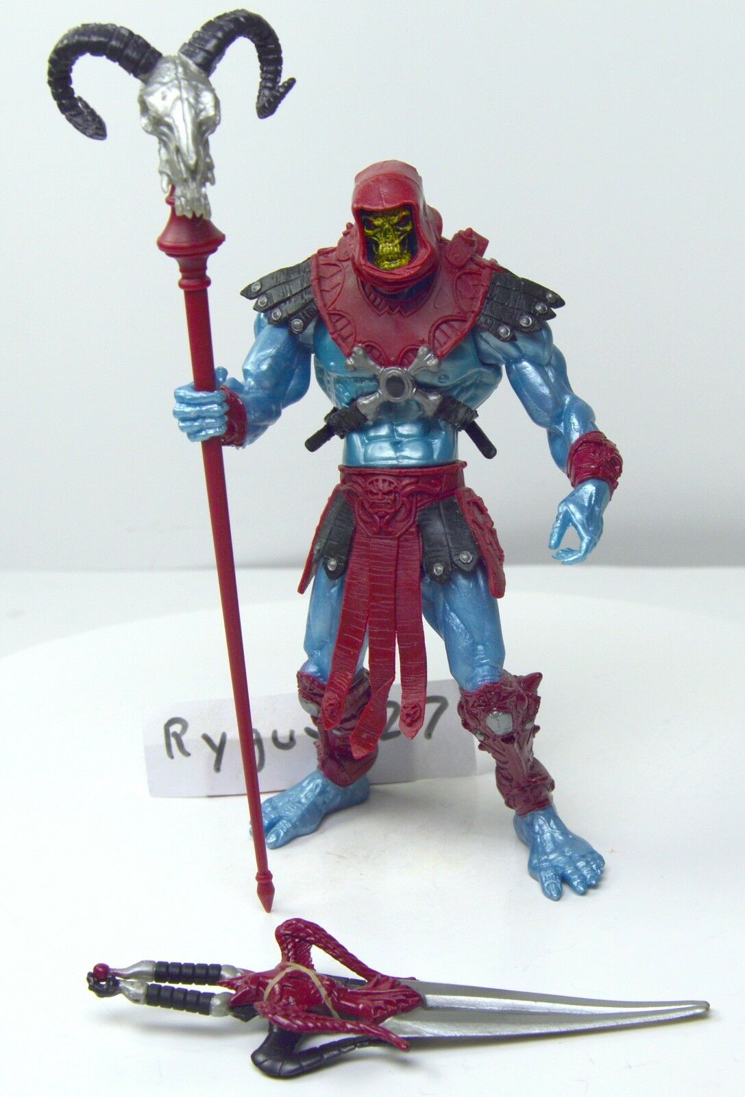 MOTU, Blood rosso Skeletor 200x, complete, figure, Masters of the Universe, He-Man