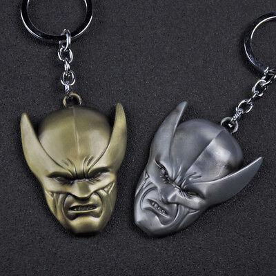 Marvel Superhero X-Men Wolverine Alloy Key Chains Keychain Keyfob Keyring
