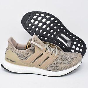 d03528b3127 Details about Adidas UltraBOOST CG3039 Mens Running Shoes Primeknit Trakha  Brown