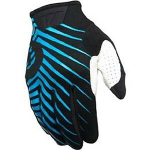 SIX SIX ONE 401 Motorcycle Gloves Cyan Adult Small