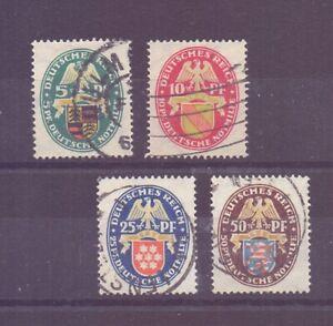 Dt-Reich-1926-Nothilfe-MiNr-398-401-gestempelt-Michel-160-00-050