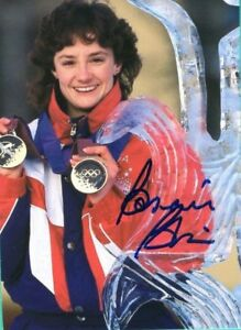 Bonnie-Blair-Olympic-Gold-Medalist-Skater-Hand-Signed-Autograph-3-75-x-5-25