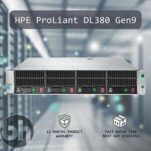 HPE-DL380-G9-2x-E5-2630L-V3-8-Core-CPUs-32GB-RAM-Gen9-Virtualization-Homelab