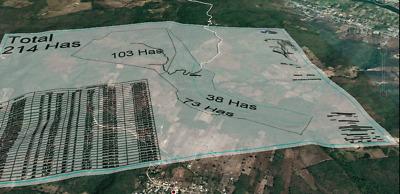 203 hectáreas $1 millón x hectárea , Tuxtla Gutierrez Chiapas. Escritura pública
