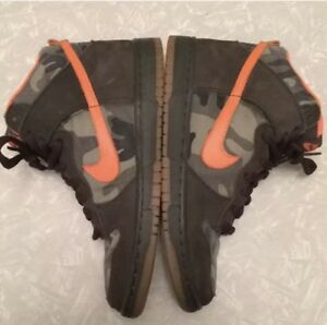best website 7cde6 a991f Image is loading Collectible-Rare-Nike-SB-Dunk-High-Brian-Anderson-