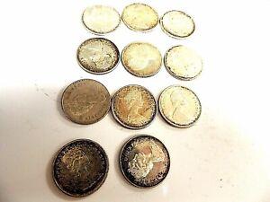 1967-Canadian-Quarter-Commemorative-Silver-Coins-034-One-Random-Pick-Per-Order-034