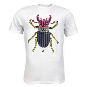 Nike-Active-manga-corta-camiseta-grafica-Hombre-Camiseta-blanca-254571-100-U27