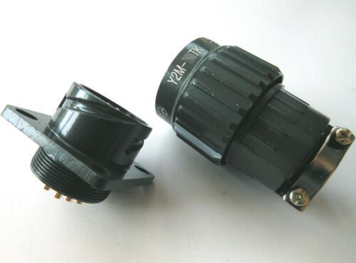 1pcs Military 14-Pin Twist Male Female Connector Plug