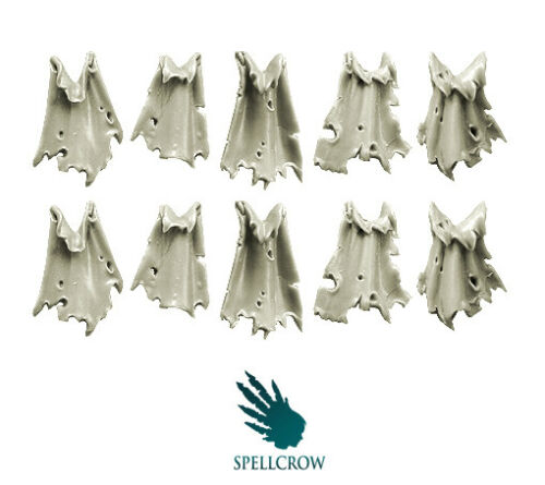 SPELLCROW Rags Tabards BITS 28mm COMPATIBLE LOINCLOTH ROBES TABARD PDT