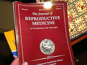 21217-VINTAGE-JOURNAL-OF-REPRODUCTIVE-MEDICINE-NUMBER-3-1994