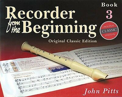 Instruction Books, Cds & Video Bright Recorder From The Beginning Book 3 Classic Edition New 014027188