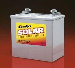 MK Battery 8G22NF-DEKA Deka Solar 12V Gelled-Electro<wbr/>lyte