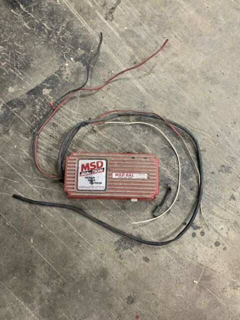 Msd 6al Ignition Box   6420