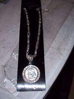 Fat Albert Heavy Metal Necklace Pendant 28 Chain 11/4 D Medallion Hip Hop 6 Oz