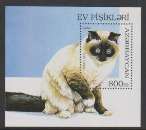 Azerbaijan - 1995, Cats sheet - MNH - SG MS280