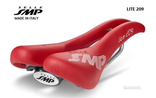 NEW 2020 Selle SMP LITE 209 Saddle SMP4BIKE Pro Mens Road Split Bike Seat RED